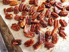 These sweet and spicy toasted nuts are great for gift-giving, cocktails or parties.  Make sure you have plenty on hand - they will go quick!...