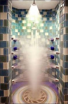 Best Shower Ever ~ ◉ re-pinned by http://www.waterfront-properties.com/