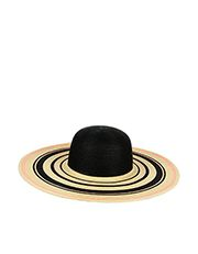Colourblock Stripe Floppy Hat