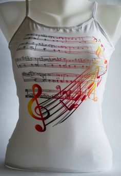 Musical Notes Beautiful Music Clef Print by colinedesign on Etsy, $24.90