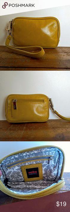 bc5ddf10617 Hobo International Small Leather Wristlet. Hobo BagsHobo HandbagsYellow ...