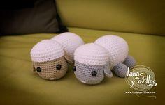 Amigurumi Sheep or Lamb - Free Crochet Pattern and Tutorial