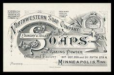 Northwestern Soap Company   Sheaff : ephemera
