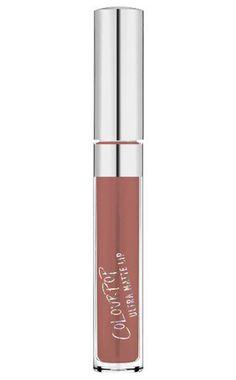 """""""Ultra Matte Lip"""" in der Farbe Beeper von Colourpop über Amazon, ca. 20 Euro."""