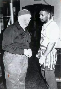 Cus D'amato passes on his teachings to Mike Tyson...