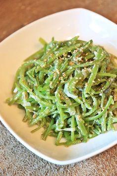 들깨가루 넣고 고구마줄기볶음 했어요 고소한 여름반찬 만들기 :)딱 이맘때 먹어야 하는 메뉴 ,역시 뭐든 ... Korean Side Dishes, K Food, Food Menu, Vegetable Seasoning, My Best Recipe, Home Food, Korean Food, Food Plating, No Cook Meals