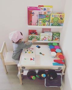 Area for OliverJames in Nana's craft room! ❤️