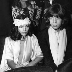 Bianca & Mick Jagger - A perennial source of inspiration for Team Zoe, we can't get enough of the '70s glamour of Bianca and Mick. Both style icons in their own right, their bohemian, rocker-chic sensibilities continue to imbue our couples dressing aspirations.