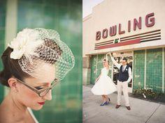 Weddings? vintage bowling alleys