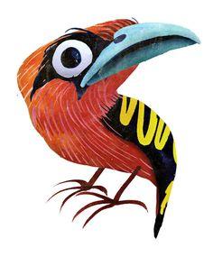 Brendan Wenzel illustration bird
