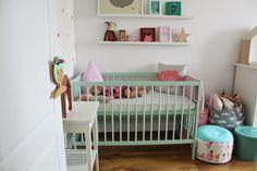 pretty pastel nursery
