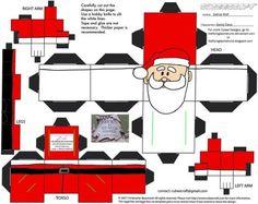 Xmas2: Santa Cubee by TheFlyingDachshund