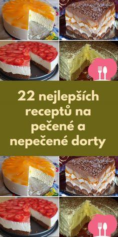 22 nejlepších receptu na pecené a nepecené dorty Oreo Cheesecake, Cereal, Breakfast, Anna, Food, Morning Coffee, Essen, Meals, Yemek