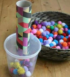 15 Diy Non-Toys For Toddlers - The Imagination Tree 15 DIY Non-Toys for Toddlers - The Imagination Tree handmade toys for toddlers - Diy Toys Activities For 2 Year Olds, Motor Skills Activities, Toddler Learning Activities, Infant Activities, Educational Activities, Diy Toys For 2 Year Olds, Children Activities, Children Toys, Easter Crafts For Kids