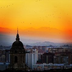 When the lights go down in the city #Malaga #Spain #Europe #travelnatgeo #travelzoo | Photo by @socialnomads