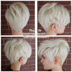 Platinum Short Haircuts! | The HairCut Web!
