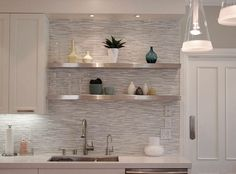 GORGEOUS!!! 10 Floating Shelves to Create Contemporary Wall Displays - http://freshome.com/floating-shelves/