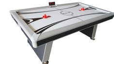 Playcraft Center Ice 7' Air Hockey Table w/Ping Pong Conversion Top
