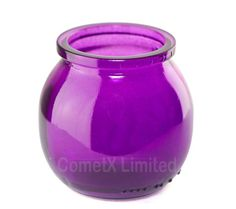 Candle Pot - Purple :: The Candle Making Shop