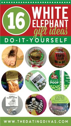 I'm making one of these White Elephant gifts for next week's party! www.TheDatingDivas.com