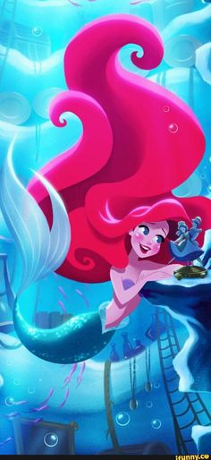 Ariel from Disney's The Little Mermaid                                                                                                                                                     More