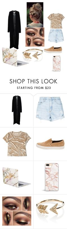 """Untitled #96"" by jasmine-stepter on Polyvore featuring Ora, Nobody Denim, Hollister Co., Common Projects, iHome and EF Collection"
