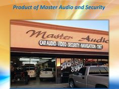At Master Audio & Security, we offer widest selection of top quality car audio, video and security for your car. Master Audio & Security has the latest in vehicle security technology. Use your Smartphone to control your remote start, alarm or GPS tracking. Our latest technology in car entertainment and security accessories meet your entire auto upgrade needs.