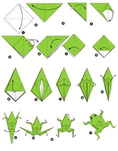 Make A Jumping Frog A Year With Frog And Toad Pinterest