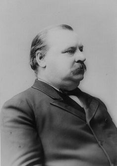 Fun facts and trivia about Grover Cleveland and the US Presidents and First Ladies. Grover Cleveland was the first president to have a child born in the White House. Best Us Presidents, Presidents In Order, American Presidents, American History, American Soldiers, British History, Native American, Arnold Schwarzenegger, Grover Cleveland