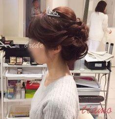 清楚美人な花嫁さまの洋装和装3スタイル♡リハ篇   大人可愛いブライダルヘアメイク 『tiamo』 の結婚カタログ Bride Hairstyles, Hair Styles, Weddings, Jewelry, Fashion, Hairstyles For Brides, Hair Plait Styles, Moda, Bridal Hairstyles