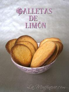 Galletas de limón   La Muffinerie