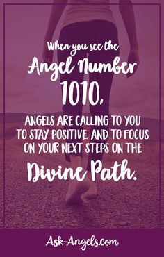 The angel number 1010 is a call from the angels to stay positive, and to focus on your next steps on the Divine path appearing before you. Angel Number Meanings, Angel Numbers, Angel Number 1010 Meaning, Numerology Numbers, Numerology Chart, Libra, Double Numbers, Spiritual Guidance, Spiritual Wellness