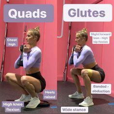 Quad Workouts At Home, Fun Workouts, Glute Workouts, Cardio, Body Workouts, Fitness Workouts, Fitness Goals, Quad Exercises, Compound Exercises