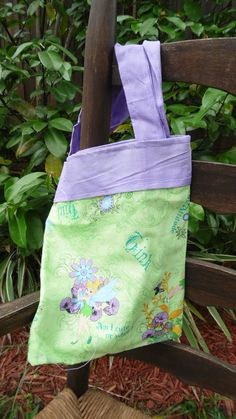 Check out this item in my Etsy shop https://www.etsy.com/listing/199555096/childs-tote-tinker-bell