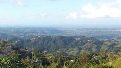 Vista del norte desde Comerio. PR