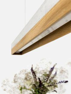 C1 eiken concrete eiken minimalistische rechthoekige