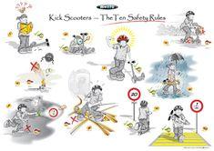 Dank richtigem Verhalten können Kinder die Sicherheit auf dem Scooter und dem Trottinett markant erhöhen. Wir haben die wichtigsten Sicherheits- und Verhaltensregelen zusammengefasst. #Sicherheit #Fahrverhalten #Regeln #Scooter #Trottinett #fahren #Kinder #DieAngelones Kids Rugs, Happy, Code Of Conduct, Kids Learning, Family Life, Safety, Waiting, Swiss Guard, Kid Friendly Rugs