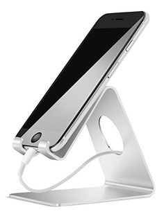 Cell Phone Stand, Lamicall iPhone Stand : Desktop Cradle,...