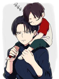 Levi and Baby!Eren