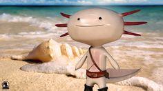 Jack the Axolotl
