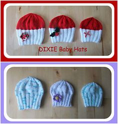 Ravelry: DIXIE Baby Hats pattern by marianna mel Knitted Hats, Crochet Hats, Bonnet Hat, Baby Warmer, Baby Hats, Baby Knitting, Baby Items, Cute Babies, Knitting Patterns