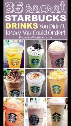 25 Starbucks Drinks You Didn't Know You Could Order#All#Trusper#Tip