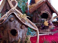 Unique birdhouses for your yard.