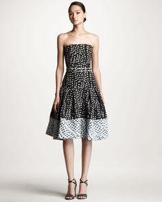 http://ncrni.com/carolina-herrera-polka-dot-jacquard-dress-p-538.html
