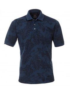 Polo-Shirt mit modischem Druck - Polos & Shirts - CASAMODA