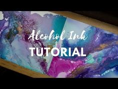 Demonstration of how to use alcohol inks for interesting backgrounds and pieces of art. Lots of potential for gift ideas - could be used for creative birthda...