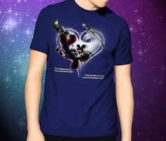 Kingdom Hearts When Darkness Comes  T-Shirt by FPArtistry on Etsy