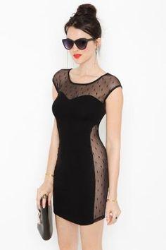 Sneak Peek Dress in  Clothes Dresses at Nasty Gal