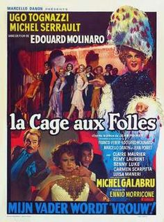 La cage aux folles (Dir. Edouard Molinaro) 1978