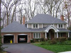 GAF Timberline HD Roof in Pewter Gray